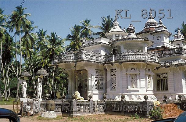 Interlitho, LANDSCAPES, photos, house, palms(KL8051,#L#)