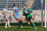 Bridgeview, IL - Saturday May 27, 2017: Sabrina D'Angelo during a regular season National Women's Soccer League (NWSL) match between the Chicago Red Stars and the North Carolina Courage at Toyota Park. The Red Stars won 3-2.