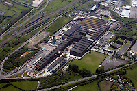 Corus plant in Parc Trostre Llanelli<br />