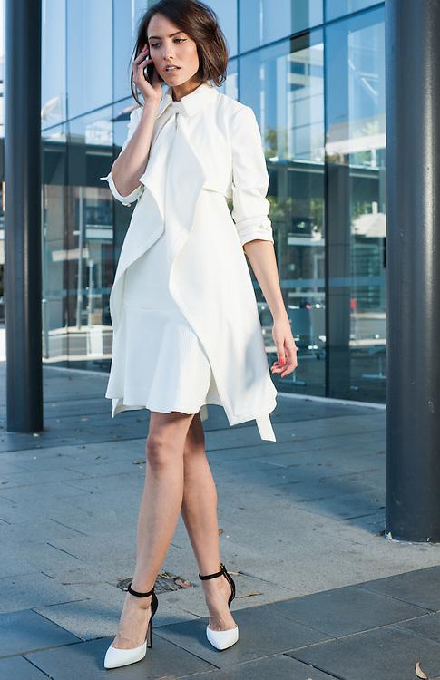 Sunday-Fashion with Mirella, Office chic, Jess, Pic:Nick Clayton