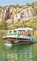 CDT-Marmaris Turkey, Riverboats To Rock Tombs & Kaunos Temples
