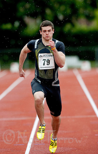 17 MAY 2009 - LOUGHBOROUGH,GBR - Craig Pickering - Mens 150m - Loughborough International Athletics .(PHOTO (C) NIGEL FARROW)