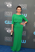 LOS ANGELES - JAN 11:  Alison Wright at the 23rd Annual Critics' Choice Awards at Barker Hanger on January 11, 2018 in Santa Monica, CA