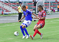 TULUA - COLOMBIA, 08-03-2020: Orsomarso SC y Tigres F.C. en partido por la fecha 6 del Torneo BetPlay DIMAYOR I 2020 jugado en el estadio Doce de Octubre de la ciudad de Tuluá. / Orsomarso SC and Tigres F.C. in match for the for the date 6 as part of BetPlay DIMAYOR Tournament I 2020 played at Doce de Octubre stadium in Tulua city. Photo: VizzorImage / Jorge Rotavinsky / Cont
