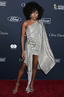 LOS ANGELES - JAN 25:  Adrienne Warren at the 2020 Clive Davis Pre-Grammy Party at the Beverly Hilton Hotel on January 25, 2020 in Beverly Hills, CA