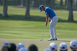 Danny Willett of England putts on the green during the 58th UBS Hong Kong Golf Open as part of the European Tour on 10 December 2016, at the Hong Kong Golf Club, Fanling, Hong Kong, China. Photo by Marcio Rodrigo Machado / Power Sport Images