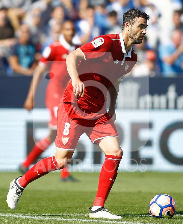 Sevilla FC's Vicente Iborra during La Liga match. October 15,2016. (ALTERPHOTOS/Acero)