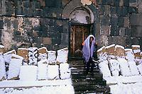 Sevanarank monastery, Armenia, February 2014