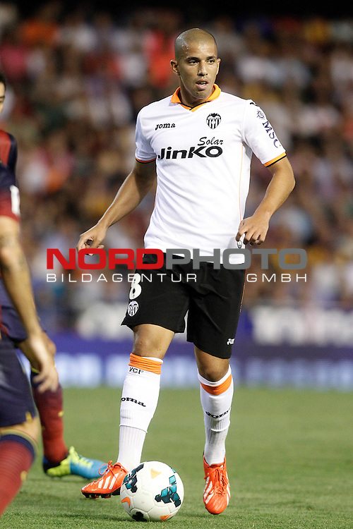 Valencia's Sofiane Feghouli during La Liga match.September 1,2013. Foto © nph / Acero)