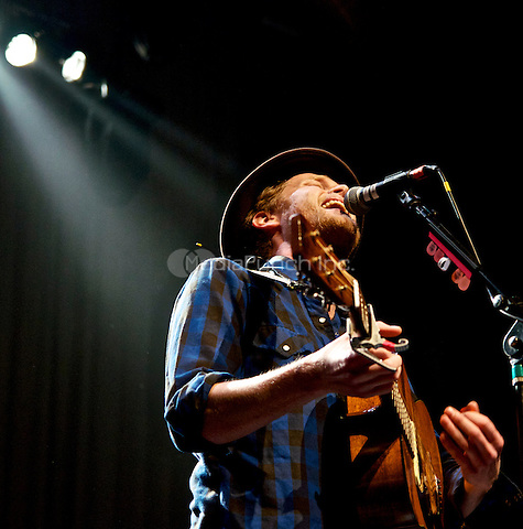 NEW YORK, NY - FEBRUARY 1: The Lumineers in concert at Terminal 5 in New York City. Credit: Robert Altman/MediaPunch Inc.