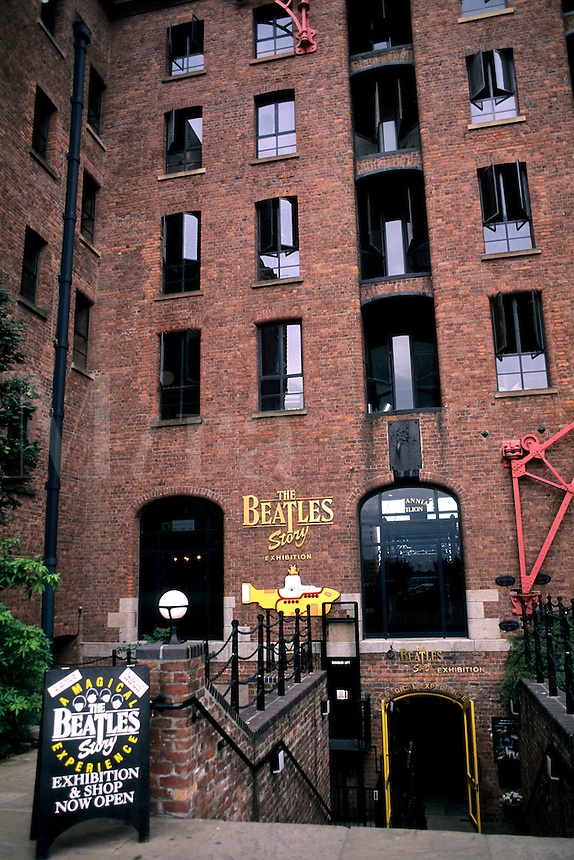 the birthplace of the Beatles Story Museum Liverpool England
