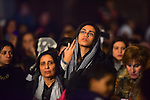 Egyptian Coptic Christians attend the Christmas celebrations at the St. Mark's Coptic Orthodox Cathedral in the Abbassia District of Cairo on January 6, 2017. Photo by Amr Sayed