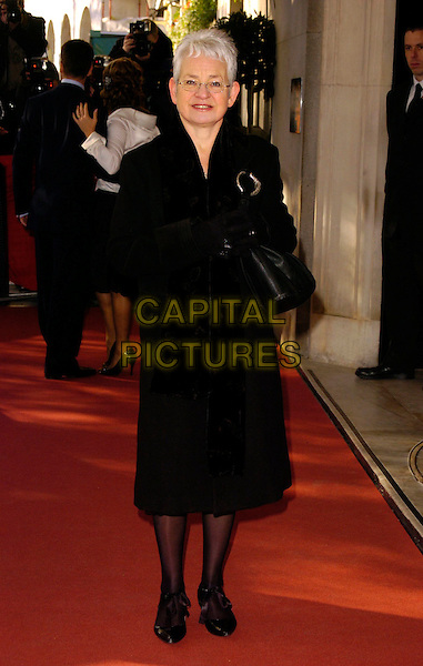 JACQUELINE WILSON.The South Bank Show Awards, Savoy Hotel, London, UK..January 23rd, 2007.full length brown coat purse bag.CAP/CAN.©Can Nguyen/Capital Pictures
