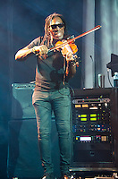 Boyd Tinsley of Dave Matthews Band performs during Summer 2013 at Cruzan Amphitheatre, West Palm Beach, FL, July 19, 2013