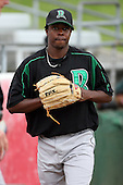 June 13th 2008:  Pitcher Luis Montano of the Dayton Dragons, Class-A affiliate of the Cincinnati Reds, during a game at Stanley Coveleski Regional Stadium in South Bend, IN.  Photo by:  Mike Janes/Four Seam Images