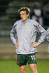 27 March 2004: Andreas Herzog of Austria before the match. Los Angeles Galaxy defeated the Kansas City Wizards 1-0 at SAS Stadium in Cary, NC in the final preseason game for both Major League Soccer teams as part of the Cary Pro Kickoff Invitational tournament..