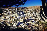 Aussicht auf die Stadt Guanajuato, Mexiko, Nordamerika