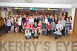 Father and daughter Brendan and Lisa Murray, Fireies,  pictured with family and friends as they celebrated their 50th and 21st birthdays respectively in Darby O'Gills, Killarney on Saturday night..