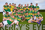 Tralee CBS celebrate after beating St Flannan's in the Frewen Cup Final held last Wednesday in Croagh, Co. Limerick. .