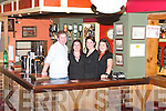 The Herbert family, Siobhan, Michelle, Shane and Grainne of Herbert's Bar, Kilflynn..
