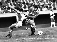 Oakland Stompers action (June 14,1978) Ron Riesterer/Photo