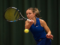 The Hague, The Netherlands, March 17, 2017,  De Rhijenhof, NOJK 14/18 years, Perla Nieuwboer (NED)<br /> Photo: Tennisimages/Henk Koster