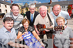 BACK TO BASICS: Pictured at the launch of the Back to Basics Festival of Kerry Entertainment programme on Tuesday at The Square, Tralee, were the organising committee. Front l-r: Brendan Sweeney, Eleanor Collins and Sheila Sugrue. Back l-r: Brian Carr, Mark OSullivan, Danny Leane and Johnny McElligott. Committee members missing from photo are Bill Kirby and Seamus OHalloran..