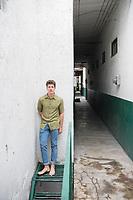 Lucas Wiseman photoshoot Edificios Condesa, Condesa, Mexico City, Mexico