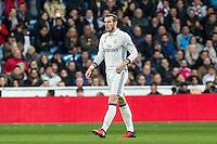 Garet Bale of Real Madrid seen red card during the match of Spanish La Liga between Real Madrid and UD Las Palmas at  Santiago Bernabeu Stadium in Madrid, Spain. March 01, 2017. (ALTERPHOTOS / Rodrigo Jimenez) /NORTEPHOTOmex