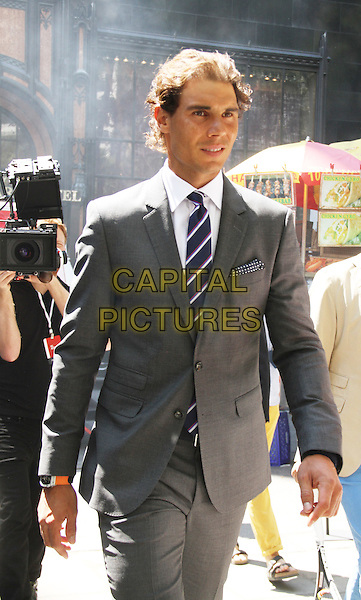 August 25, 2015: Rafael Nadal at Tommy Hilfiger &amp; Rafael Nadal Launch Global Brand Ambassadorship at Bryant Park  in New York .<br /> CAP/MPI/RW<br /> &copy;RW/MPI/Capital Pictures