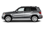 2013 Mercedes-Benz GLK-Class GLK350 Compact SUV Side View Stock Photo