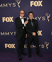 LOS ANGELES - SEPTEMBER 22: American Ninja Warrior Producer Kent Weed (L) and American Ninja Warrior Producer Arthur Smith attend the 71st Primetime Emmy Awards at the Microsoft Theatre on September 22, 2019 in Los Angeles, California. (Photo by Brian To/Fox/PictureGroup)