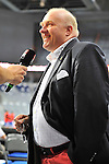 Ingo Weiss Pr&auml;sident des Deutschen Basketball Bundes (DBB) beim Laenderspiel Deutschland - Frankreich.<br /> <br /> Foto &copy; Rhein-Neckar-Picture *** Foto ist honorarpflichtig! *** Auf Anfrage in h&ouml;herer Qualit&auml;t/Aufl&ouml;sung. Belegexemplar erbeten. Ver&ouml;ffentlichung ausschliesslich f&uuml;r journalistisch-publizistische Zwecke.