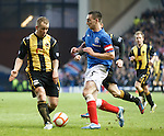 Lee Wallace runs into a solid wall of Currie