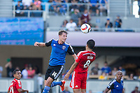 San Jose, California - June 7, 2015: San Jose Earthquakes vs FC Dallas at Avaya Stadium.