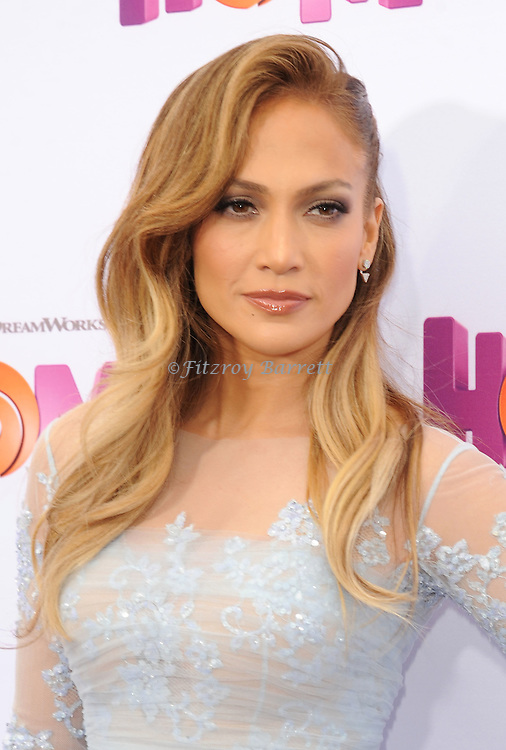Jennifer Lopez arriving at the Los Angeles premiere of Home, held at Regency Village Theater on March 22, 2015
