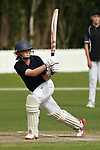 A. Conroy of Tawa Intermediate batting during her innings of 127 runs not out against Remuera Intermediate. ANZ National Primary School Shield, Lincoln, New Zealand, Saturday 23 November 2019. Photo: Martin Hunter, www.bwmedia.co.nz