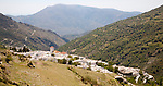 Whitewashed village of Capileira, High Alpujarras, Sierra Nevada, Granada province, Spain