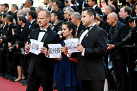 """CANNES - MAY 15:  Guests arrives to the premiere of """" LES MISÉRABLES """" during the 2019 Cannes Film Festival on May 15, 2019 at Palais des Festivals in Cannes, France.      <br /> CAP/MPI/IS/LB<br /> ©LB/IS/MPI/Capital Pictures"""