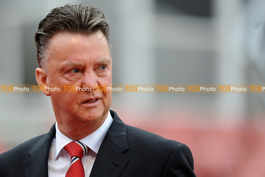Manchester United manager Louis van Gaal - Stoke City vs Manchester United - Barclays Premier League Football at the Britannia Stadium, Stoke-on-Trent - 01/01/15 - MANDATORY CREDIT: Greig Bertram/TGSPHOTO - Self billing applies where appropriate - contact@tgsphoto.co.uk - NO UNPAID USE