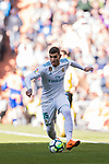 Theo Hernandez of Real Madrid in action during the La Liga 2017-18 match between Real Madrid and Deportivo Alaves at Santiago Bernabeu Stadium on February 24 2018 in Madrid, Spain. Photo by Diego Souto / Power Sport Images