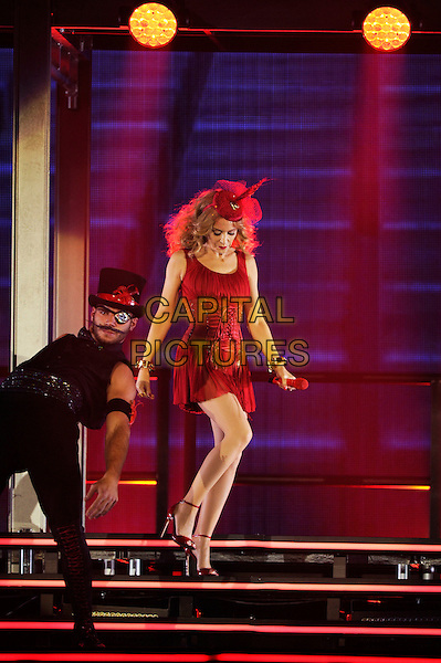LONDON, ENGLAND - SEPTEMBER 29: Kylie Minogue performing at the o2 Arena on September 29, 2014 in London, England.<br /> CAP/MAR<br /> &copy; Martin Harris/Capital Pictures