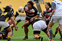 Aotearoa Matau of Counties Manukau in action during the Farah Palmer Cup - Wellington Pride v Counties Heat at Westpac Stadium, Wellington, New Zealand on Sunday 15 September 2019. <br /> Photo by Masanori Udagawa <br /> www.photowellington.photoshelter.com