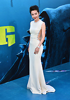 "LOS ANGELES, CA - August 06, 2018: Li Bingbing at the US premiere of ""The Meg"" at the TCL Chinese Theatre"