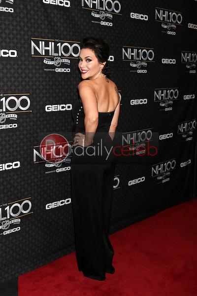 Alyssa Milano<br /> at the The NHL100 Gala, Microsoft Theater, Los Angeles, CA 01-27-17<br /> David Edwards/DailyCeleb.com 818-249-4998