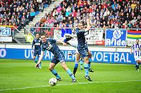 VOETBAL: HEERENVEEN: Abe Lenstra Stadion, SC Heerenveen - Feyenoord, 06-05-2012, Stefan de Vrij (#3), Ron Vlaar (#4), Eindstand 2-3, ©foto Martin de Jong