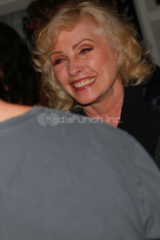 New York, NY - September 22 : Debbie Harry attends Blondie's 40th Anniversary Exhibition Hosted by Jeffrey Deitch held at the Chelsea Hotel Storefront Gallery on September 22, 2014 in New York City. (Photo by Brent N. Clarke / MediaPunch)