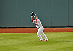 12 October 2012: The St. Louis Cardinals center fielder Jon Jay in action during Postseason Playoff Game 5 of the National League Divisional Series against the Washington Nationals at Nationals Park in Washington, DC. The Cardinals stunned the home team Nats with a four-run rally in the 9th inning to defeat the Nationals 9-7 and win the NLDS, moving on to the NL Championship Series. Mandatory Credit: Ed Wolfstein Photo