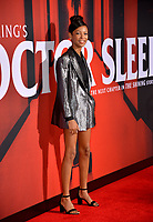 "LOS ANGELES, USA. October 30, 2019: Kyliegh Curran at the US premiere of ""Doctor Sleep"" at the Regency Village Theatre.<br /> Picture: Paul Smith/Featureflash"