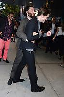 Josh Safdie, Robert Pattinson bei der Premiere des Kinofilms 'Good Times' im SVA Theater. New York, 08.08.2017